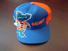 FLORIDA GATORS BIG LOGO TWINS    SCRIPT NEW VINTAGE 90'S HAT CAP  SNAPBACK