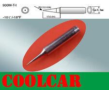SOLDER SOLDERING IRON STATION Tip 900M-T-I Rework Hakko 907 936 fine needle tip