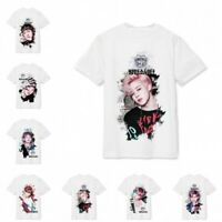 KPOP BTS T-shirt Bangtan Boys SUGA Jimin JUNG Kook V JIN Cotton Tee Short Sleeve