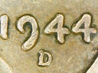 1944-D Lincoln Wheat Cent DDO FS-101 Doubled Die Obverse