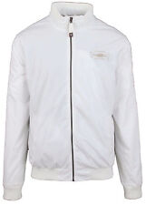 VAN SANTEN & VAN SANTEN Jacke Jacket Größe L Weiß White Luxus Polo BUENOS AIRES
