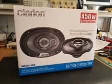 "QUALITY CLARION SRG6933R 6x9"" 450w CAR SPEAKERS"