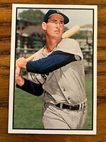 2015 TOPPS VIP #163 TED WILLIAMS BOSTON RED SOX HOF -1953 BOWMAN COLOR