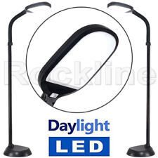 Floor Standing Daylight LED Reading Hobby Work Craft SAD Standard Lamp Light New