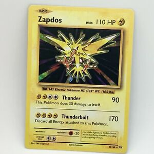 Zapdos 42/108 - Holo - XY Evolutions - Pokemon Card - NM