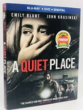Quiet Place, A (Blu-ray+DVD+Digital, 2018) NEW w/ Slipcover