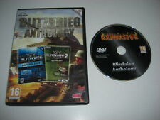 BLITZKRIEG 1 & 2 ANTHOLOGY Pc DVD Rom FAST POST