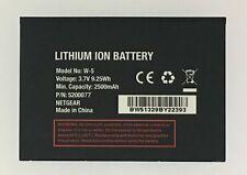 Replacement Battery Netgear W-5 2500mAh AirCard 770S AT&T Unite AirCard 771S W5