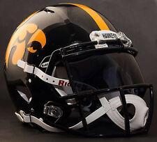 "*CUSTOM* IOWA HAWKEYES ""ANF"" NCAA Riddell Speed AUTHENTIC Football Helmet"