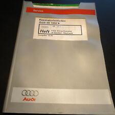 Werkstatthandbuch Audi 80 B4 2,0 E 16V 4-Zyl. Einspritz Motor 6A ACE Stand 1991