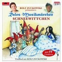 """RALES MUSIKMÄRCHEN """"SCHNEEWITTCHEN"""" CD NEU"""