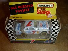 Matchbox Super Stars 1993 USA Bobsled Project #7 Jimmy Hensley New In Box