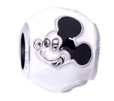 Disney Mickey Mouse Charm For European Charm Bracelet