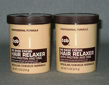 2 x tcb - Hair Relaxer Regular Glättungscreme mit Protein und DNA - mild - 424 g