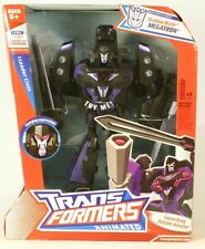 Transformers Megatron Animated Leader Decepticon Shadow Blade Version New Sealed
