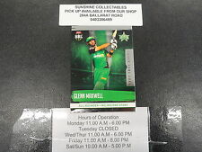 2016/17 CRICKET TAP N PLAY SILVER GAME CARD NO.139 GLENN MAXWELL