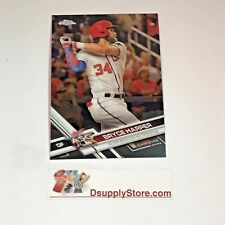 2017 Topps Chrome Update Baseball #HMT1 Bryce Harper Washington Nationals