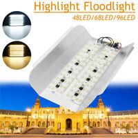 30W 50W 100W LED Lampe Floodlight Projecteur Éclairage Lumière Jardin Extérieur