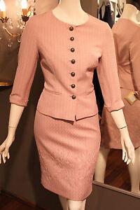 Sehr schönes MOTHWURF Kostüm Gr. 38 rosé, rosa Jacke und Rock