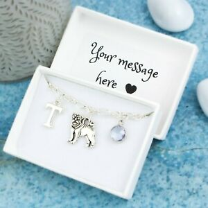 Pug Bracelet, Personalised Jewellery, New Puppy Owner Gift, Pet Memorial Gift