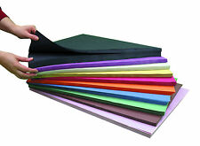 A2 SUGAR PAPER - 250 SHEETS OF 10 ASSORTED COLOURS