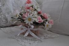 Blumen -Körbchen, Romantik, Vintage Shabby- Chick
