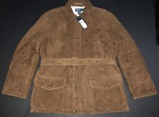 $1695 Polo Ralph Lauren Luxury rrl Quilted Coat Blazer Hunting Leather Jacket L