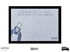 Alpha Chef Non Stick Baking Oven Silicone Mat Sheet Reusable Bakeware 42cmx30cm