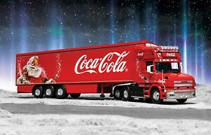 1:50th Coca Cola Scania T Christmas Artic Truck diecast model CORGI CC12842