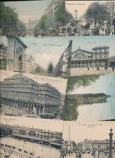 France PARIS 20 c1900/10s topo PPCs picture postcards