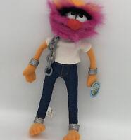 "Disney Muppet Show Drummer Animal Electric Mayhem Plush Stuffed Doll Nanco 14"""