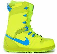 Nike Vapen Lace Up Mens Snowboard Boots Volt Green UK11 (More like UK 9.5 / 10)