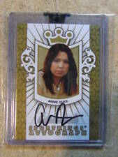 2008 Sportkings Razor Leaf Poker #A-ADU2 Auto Gold Version ANNIE DUKE /10