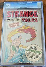 Strange Tales 107 Sub-Mariner vs the Human Torch! Classic cover! CGC 7.5