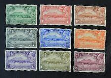 CKStamps: GB Montserrat Stamps Collection Scott#75-83 Mint H OG #79 Tiny Thin