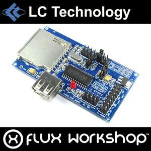 LC Technology CH376S USB SD Development Module LC-USB-CH376-DB Flux Workshop