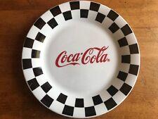 "Vintage Gibson ""Coca Cola"" 10 1/2"" Dinner Plates (3) 1996"
