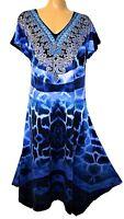 TS dress TAKING SHAPE VIRTU plus sz L / 22 Santorini Breeze Dress crystals NWT!