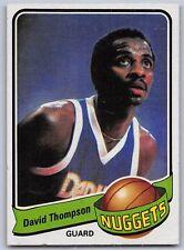 1979-80  DAVID THOMPSON - Topps  Basketball Card # 50 - DENVER NUGGETS