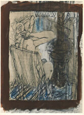 GEORGES BRAQUE - NUDE WOMAN * ORIGINAL LITHOGRAPH VERVE 1955