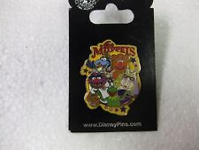 Rare Disney Pin The Muppet's Kermit Fozzy Miss Piggy Animal Gonzo 2008    pin145