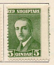Albania 1925 Hoxa Issue Fine Mint Hinged 5q. 102340