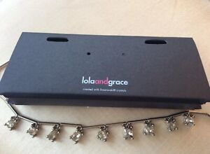Lola and Grace Swarovski Crystals Necklace New with Tags