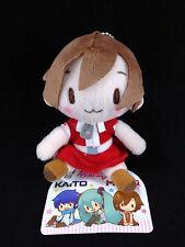 Meiko Fluffy Fuwafuwa Plush Doll Key Chain Mascot Sega Hatsune Miku Vocaloid