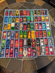 Vintage Matchbox / Hot Wheels Diecast Car Lot Collection - 1960s/1970s/1980s