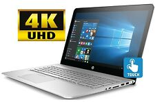 "HP Envy 15 15.6"" 4K UHD Touchscreen Laptop i7-7560U 16GB 512GB SSD WiFi BT W10"