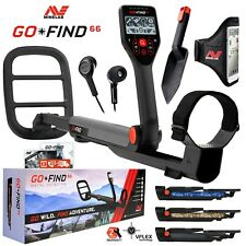 "Minelab GO-FIND 66 Metal Detector with 10"" inch 7.8 kHz Waterproof Search Coil"