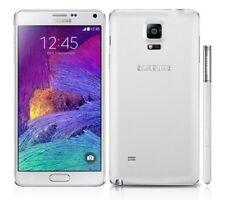 Teléfonos móviles libres blanca Samsung Galaxy Note 4 con 32 GB de almacenaje