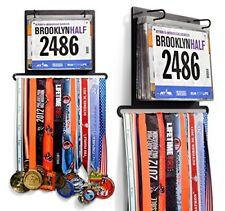 Race Bib Medal Hanger 24 Display Gone For A Run Bib Folio Plus Wall Mounted Best