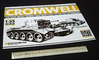 1980s Vintage Cut-Out Model Kit. Cromwell Mk.IV/VI British Cruiser Tank WW2